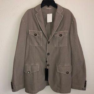 NWT J.LINDEBERG Mens Hopper Linen Blend Sport Coat
